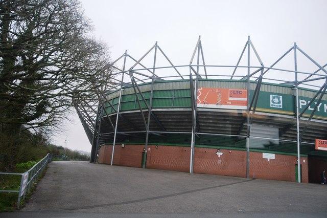 Home Park Stadium C N Chadwick Geograph Britain And Ireland