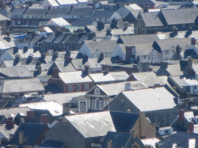 Aberystwyth roofscape