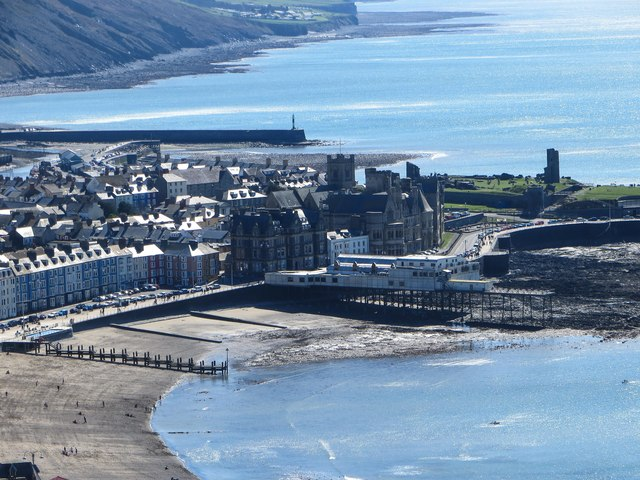 Aberystwyth from above