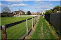 TL6374 : Footpath towards Little London by Bill Boaden