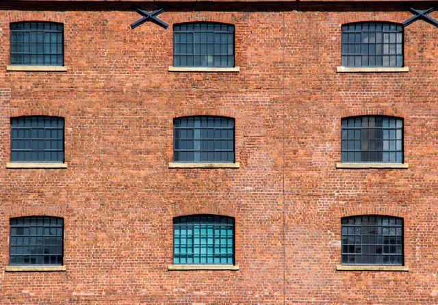Brickwork, Albert Dock