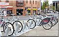J3373 : Belfast Bikes, Bradbury Place (April 2015) by Albert Bridge