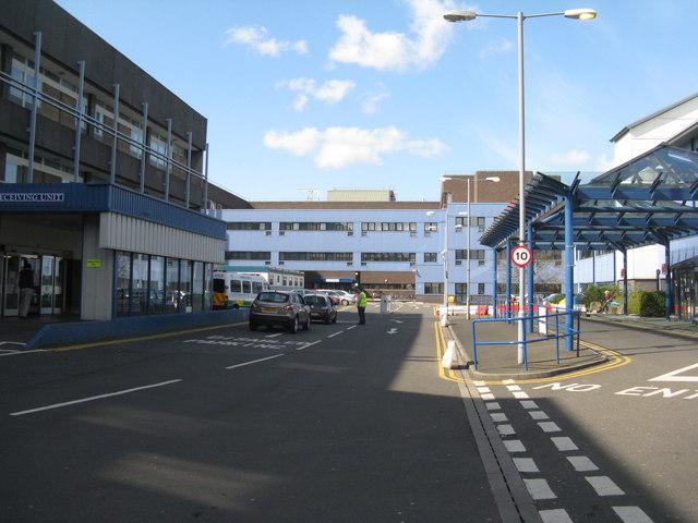Great Western Hospital Car Park Map