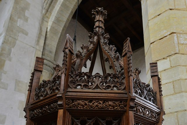 North Elmham: St Mary's Church;the font cover