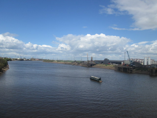 The River Trent at Gunness Wharf