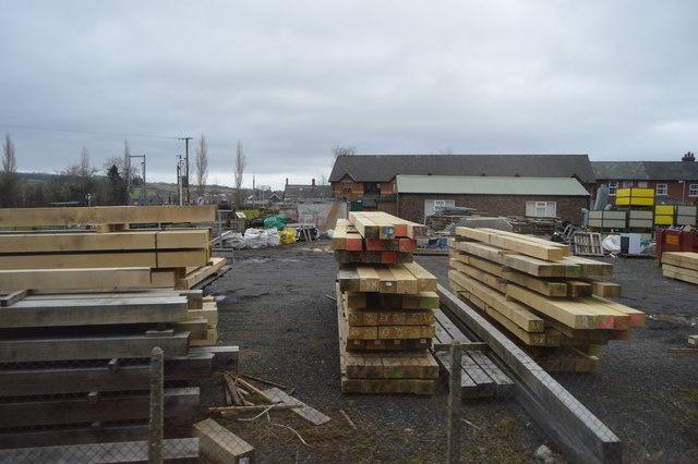 Timber, Caersws