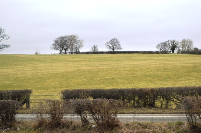 Farmland by the A470