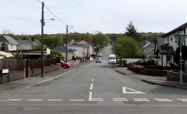 Glynhir Road, Llandybie