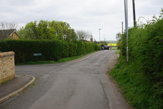 Chapel Lane, Little Downham
