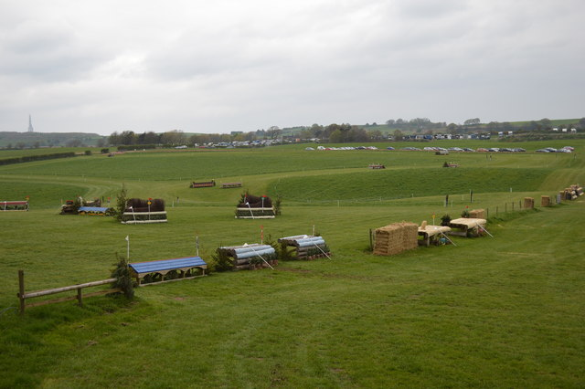 Kelsall Hill Horse Trials: cross-country fence 9