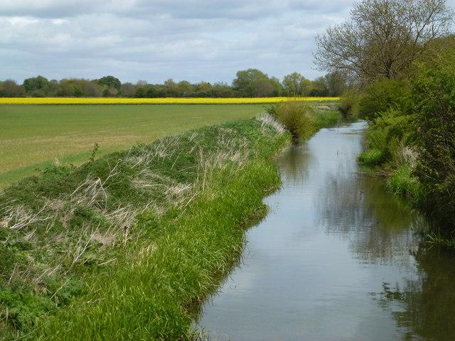 The River Glen near Wilsthorpe, Lincolnshire
