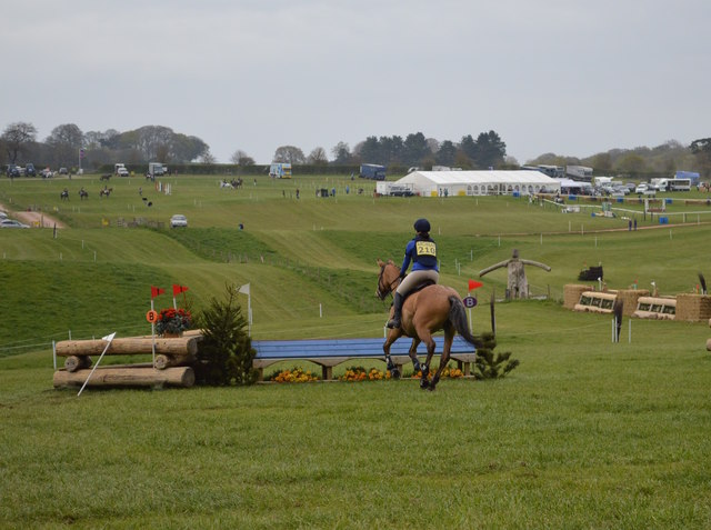 Kelsall Hill Horse Trials: cross-country fence 9b