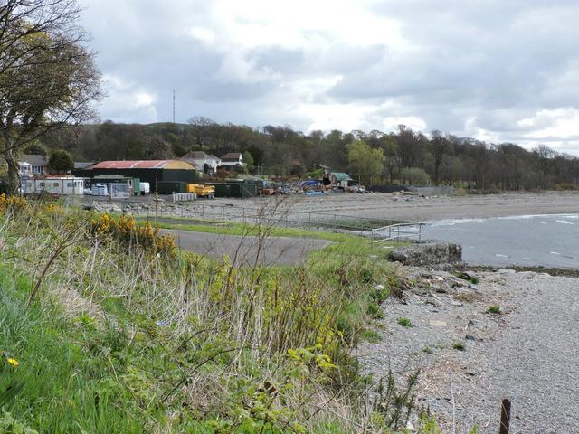 Kilcreggan boatyard