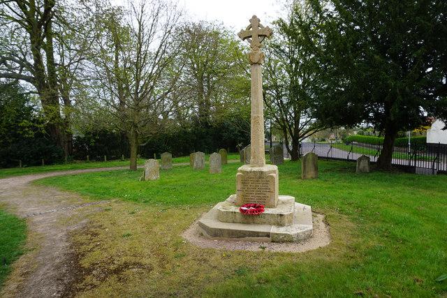 War memorial in Little Downham