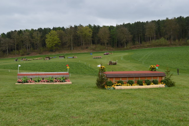 Kelsall Hill Horse Trials: cross-country fences 11 (Novice) and 15 (Intermediate)