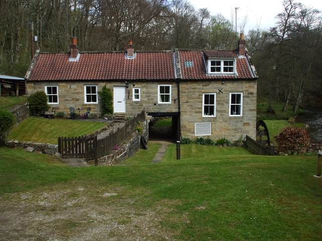 Former Corn Mill on the Esk