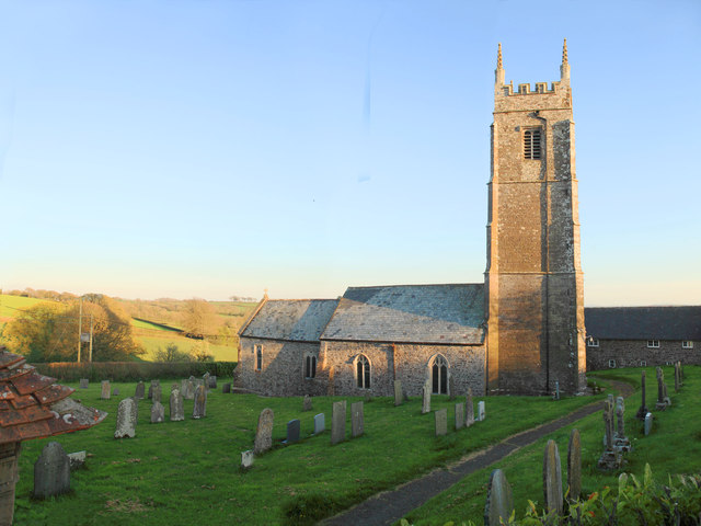 Warkleigh Church and churchyard