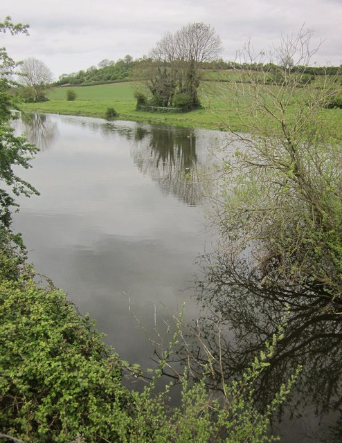 King's Sedgemoor Drain at Parchey Bridge