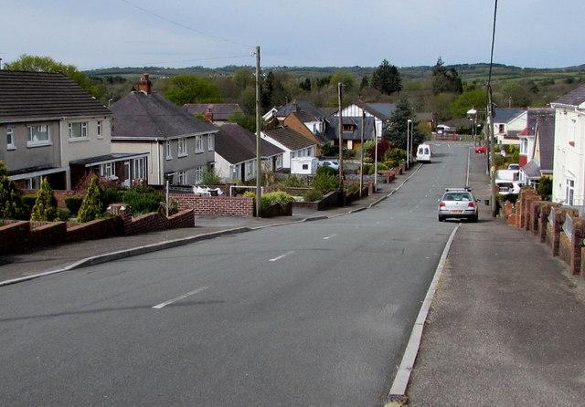Down Glynhir Road, Llandybie