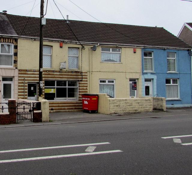 Inconspicuous takeaway,  Llandybie Road, Ammanford