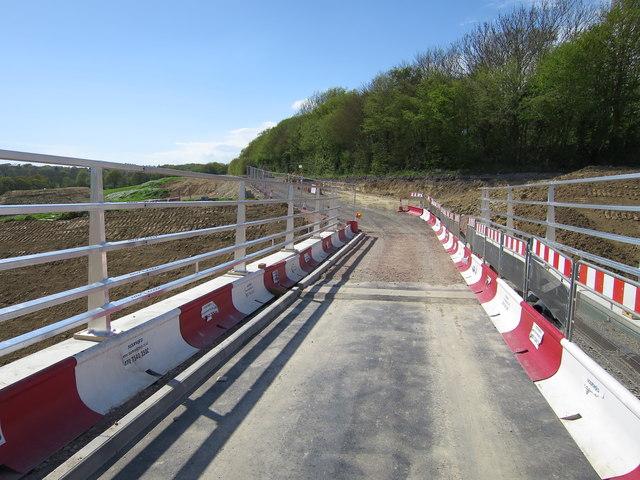 New Bridge by Acton's Farm