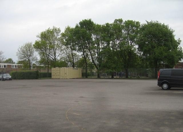 Hard play area