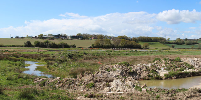 New drainage at Combe Valley Countryside Park