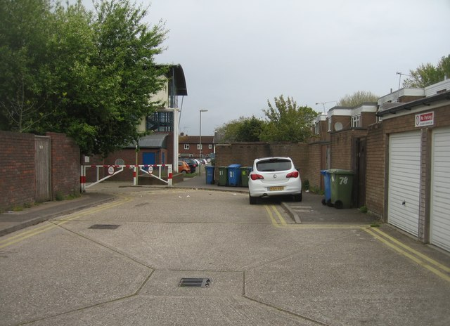Residents garages - Aldwick Close