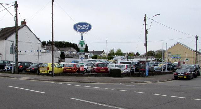 David Jones Car Sales, Ammanford