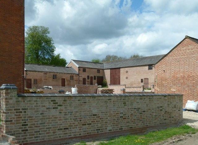Shoby House farmyard