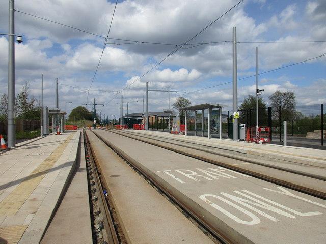 Wilford Lane tram stop