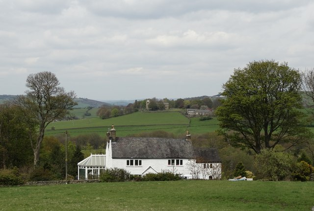 Whetmorhurst with view to Mellor Church
