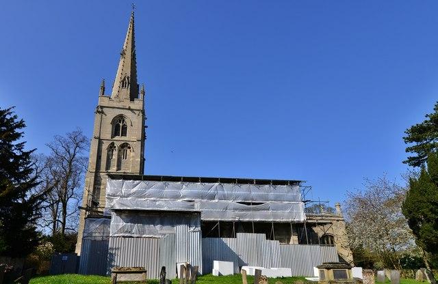 Leadenham: St Swithun's church