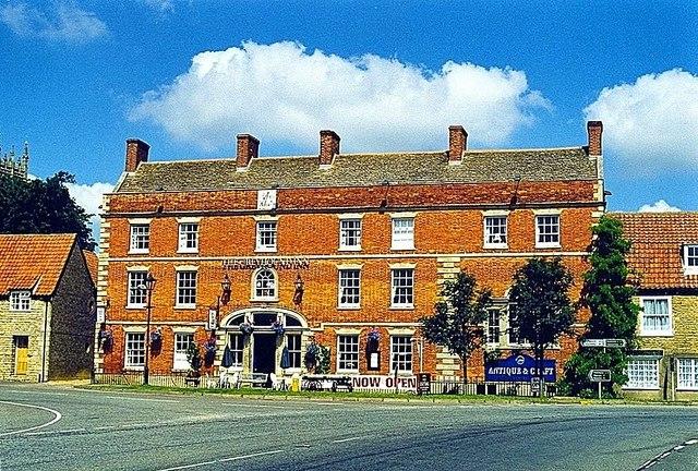 The Greyhound at Folkingham, near Bourne, Lincolnshire