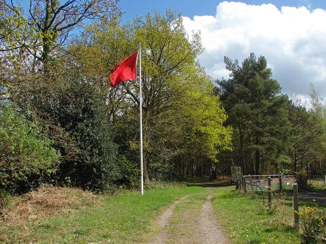 Red flag, Ash Ranges