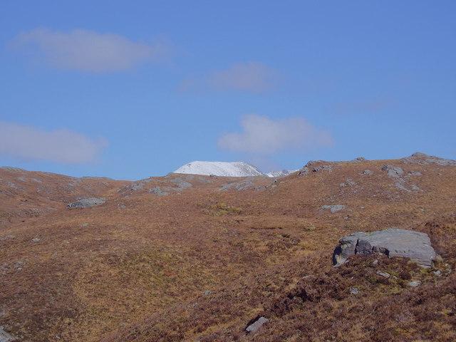 Rocky ground north of Bealach nam Luib Feadaig in Killilan Forest