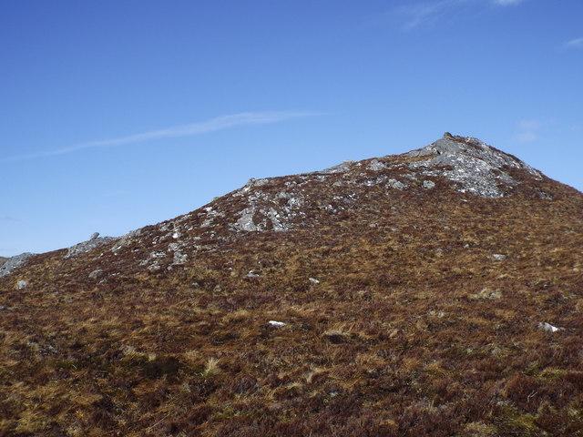 Rock pimple near Carn na Saobhaidhe in Killilan Forest