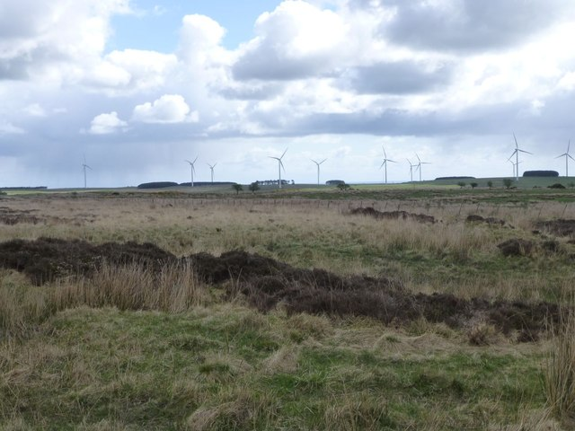 Moorland north of Hagdon
