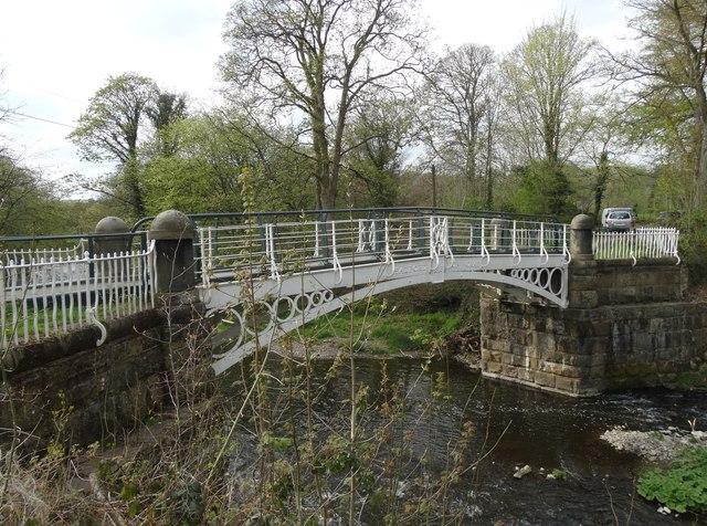 Brabyns Park Iron Bridge