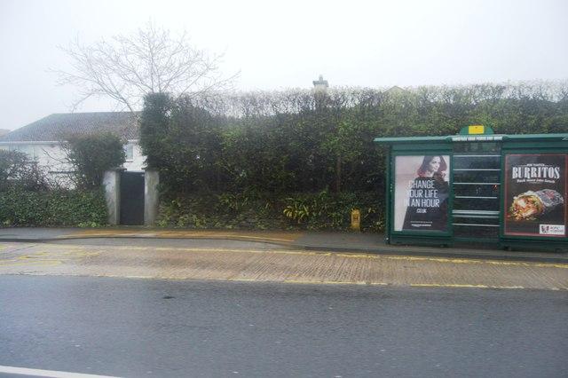 Bus stop, Tavistock Rd