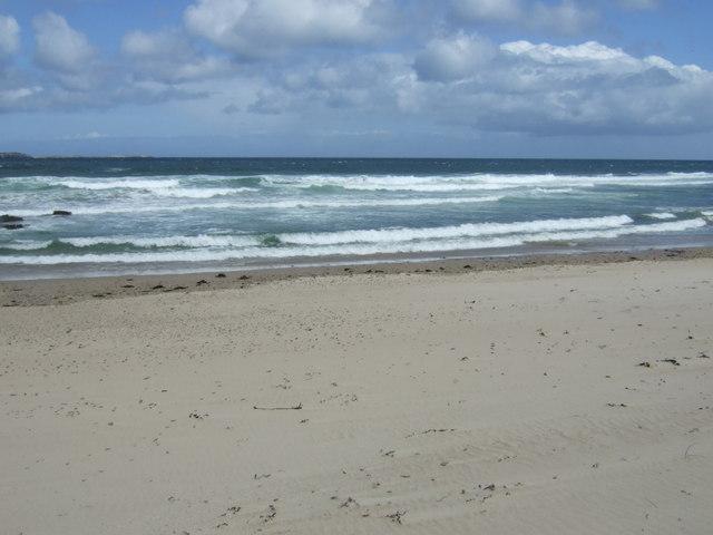 Beach near Greenhill Rocks