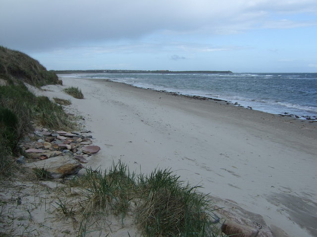Beach north of Beadnell