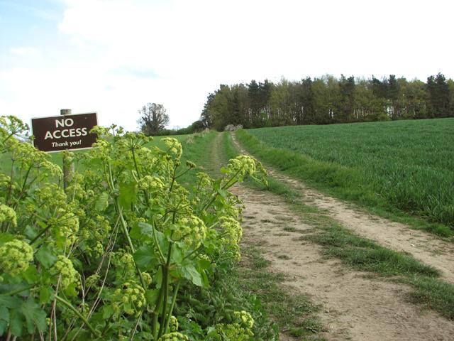 Private farm track