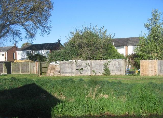 Houses in Cheyne Way