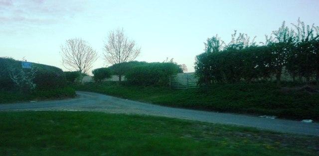 Junction of Park Lane and Sally Deards Lane