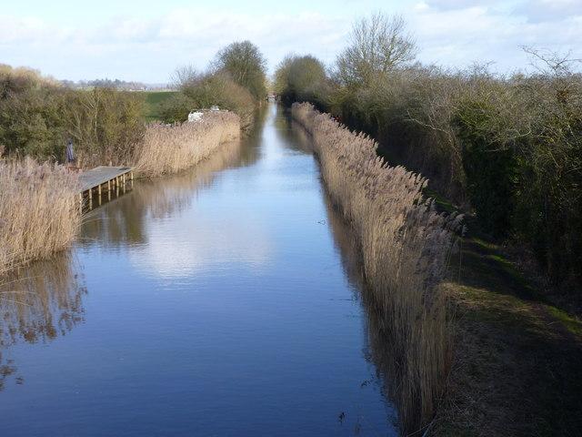 Worcester-Birmingham Canal from Hammond's Bridge