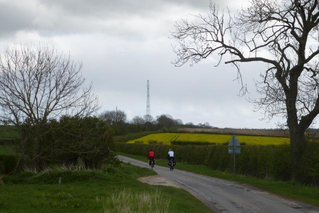 Cyclists heading for Bridlington
