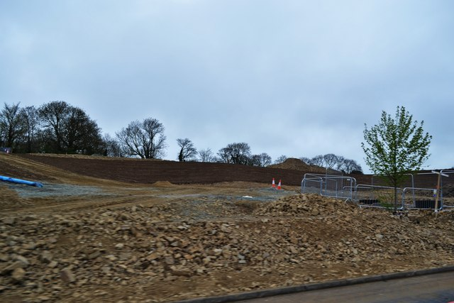 New Roundabout at Thomas Parry Way