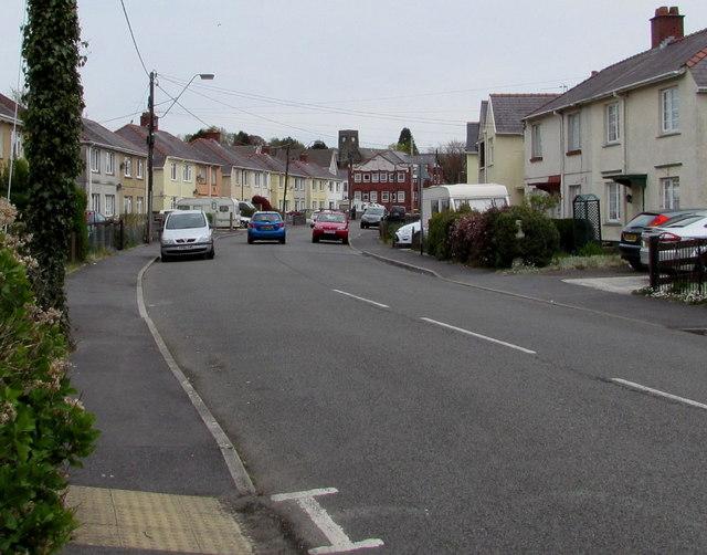 Iscennen Road, Ammanford