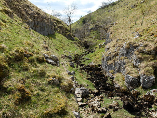 Looking south, down Trollers Ghyll